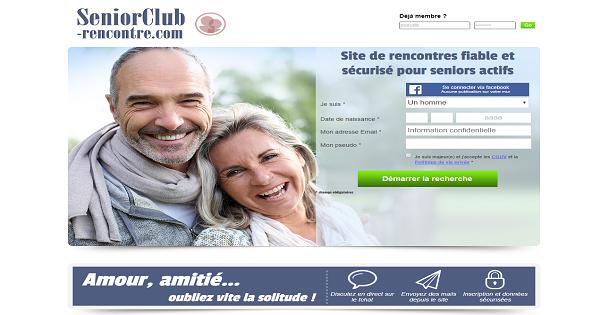 Avis SeniorClub-Rencontre : le site des amours seniors