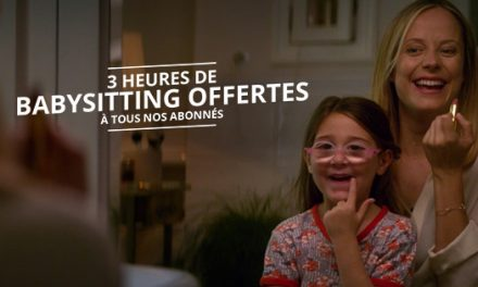3 heures de babysitting offerts aux parents célibataires sur Meetic